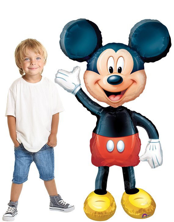 Mickey Maus Airwalker Folienballon 132cm