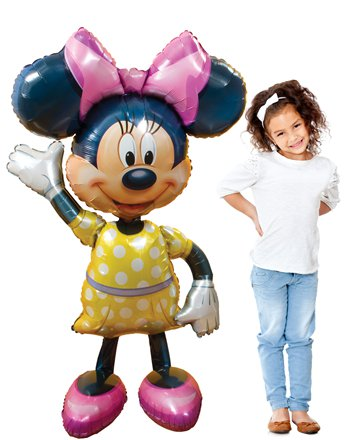 Minnie Maus Airwalker Folienballon 137cm