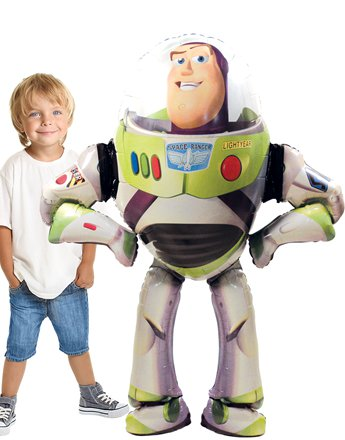 Riesen Buzz Lightyear Airwalker Folienballon - 134cm