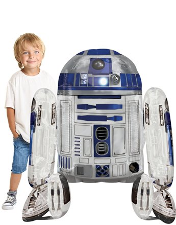 Star Wars R2-D2 Airwalker Ballon 97cm