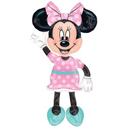 "Minnie Maus ""AirWalker"" Folienballon 97cm"