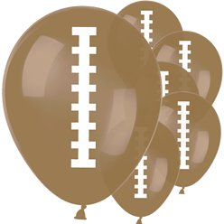 American Football Luftballons aus Latex 30cm