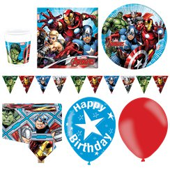 Avengers - Premium Party-Set - Für 16 Personen
