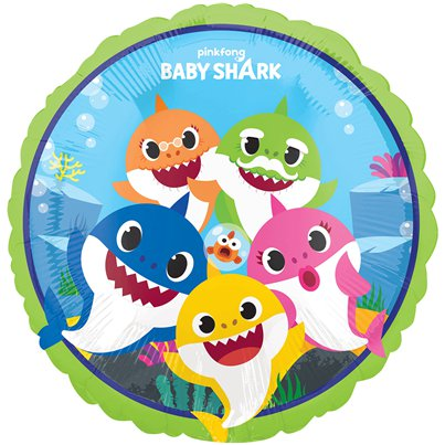 Baby Shark - Folienballon 46cm