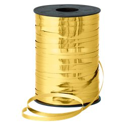 Gold-metallisches Ballonband 250m