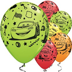 Disney Cars - Luftballons aus Latex 28cm