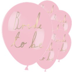 """Bride To Be"" Luftballons aus Latex 30cm"