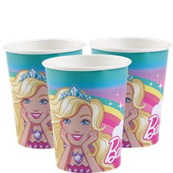 Barbie Dreamtopia - Pappbecher 250ml