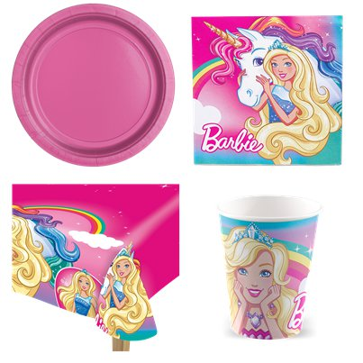 Barbie Dreamtopia - Party-Set - Für 8 Personen