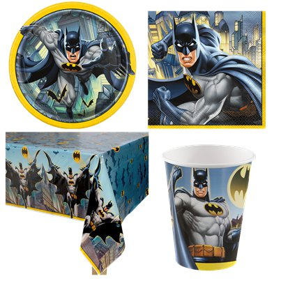Batman - Party-Set - Für 8 Personen