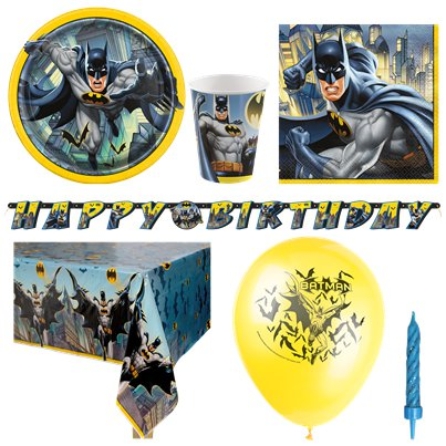 Batman - Premium Party-Set - Für 8 Personen