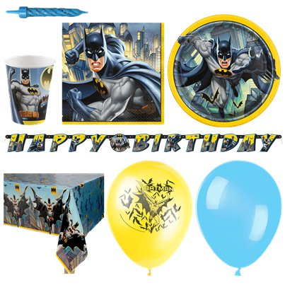 Batman - Premium Party-Set - Für 16 Personen