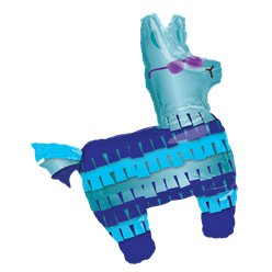 Battle Royal - Lama Figur Folienballon 84cm