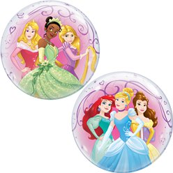 Disney Prinzessinnen - Rundr Bubble Ballon 56cm