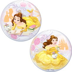 Disney Prinzessin Belle - Runder Bubble Ballon 56cm