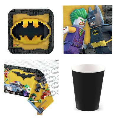 LEGO Batman - Party Deko Set - Für 8 Personen