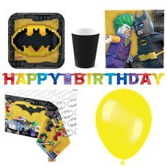LEGO Batman - Premium Party-Set - Für 8 Personen