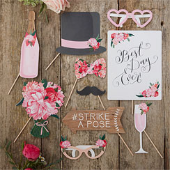 Boho-Chic - Hochzeit Foto-Requisiten Photo Booth