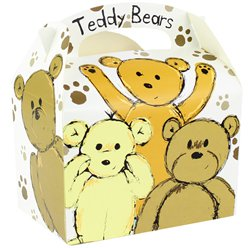 Teddybär Party Box - 15cm lang
