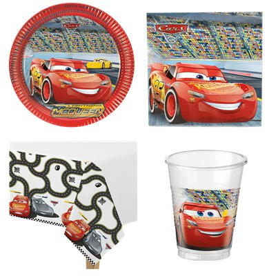 Disney Cars - Party-Set - Für 8 Personen