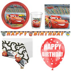 Disney Cars - Premium Party-Set - Für 8 Personen