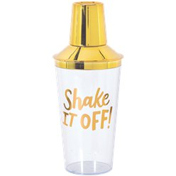 """Shake It Off!"" Cocktail Shaker"