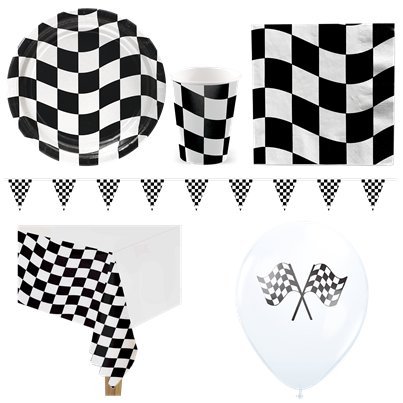 Grand Prix - Premium Party-Set - Für 8 Personen