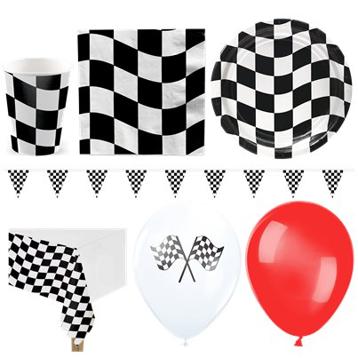 Grand Prix - Premium Party-Set - Für 16 Personen
