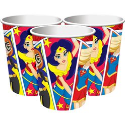 DC Superheldinnen - Pappbecher 266ml