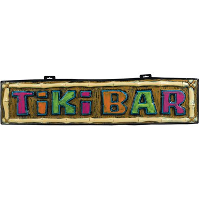 Tiki Bar Schild 1m - Hawaii Deko