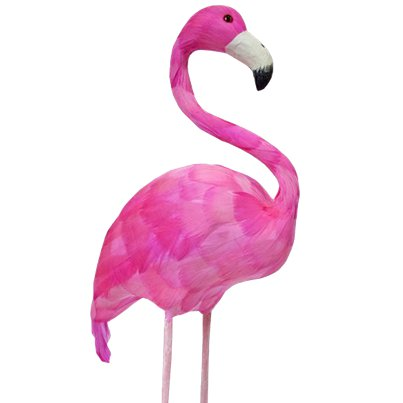 Pink-gefederter Flamingo Requisite 51cm
