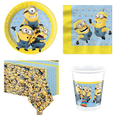 Minions - Party-Set - Für 8 Personen