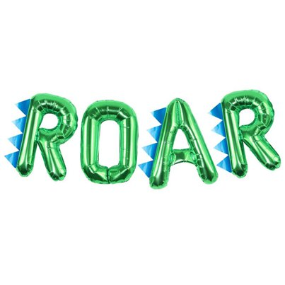 """ROAR"" Folienballons in Buchstabenform Set 41cm"