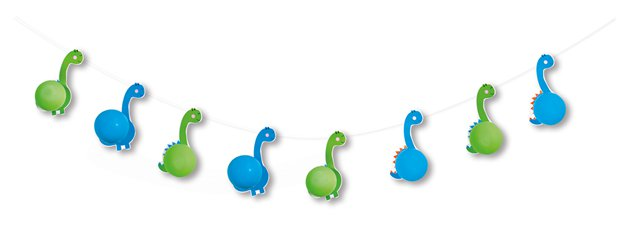 Dinosaurier Party Ballongirlande - Set