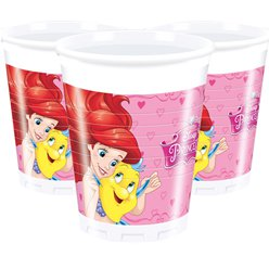 Disneyprinzessinnen - Plastikbecher 200ml