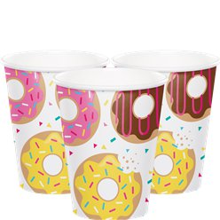 Doughnut - Pappbecher 256ml