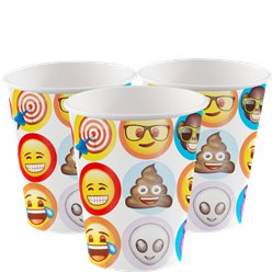 Emoji - Pappbecher 255ml