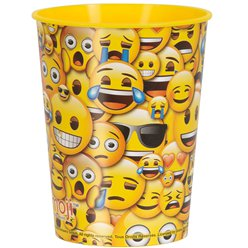 Emoji - Plastikbecher 455ml