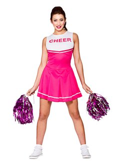 Pinker High School Cheerleader