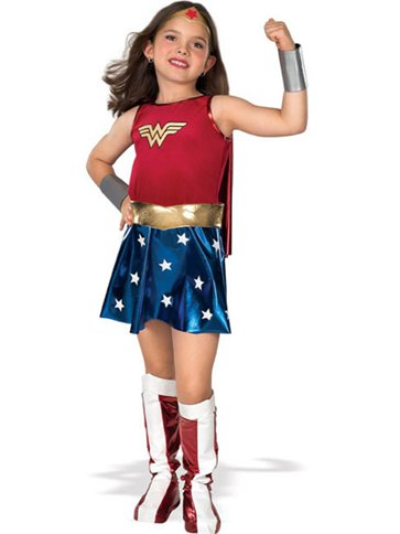 Wonder Woman Kinderkostüm front