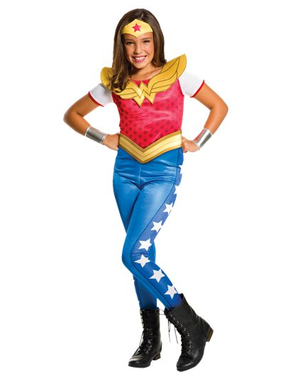 Wonder Woman Jumpsuit - Kinderkostüm