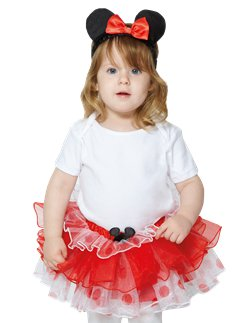 Minnie Maus Tutu & Haarreif Set