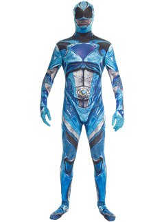 Power Rangers Movie Blauer Morphsuit