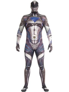 Power Rangers Movie Schwarzer Morphsuit
