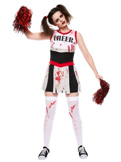 Zombie-Cheerleaderin