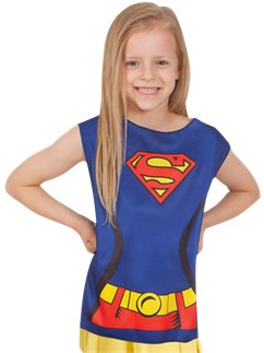 Supergirl Kostüm-Set - Kinderkostüm