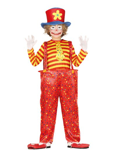 Clown in Reifhose - Kinderkostüm