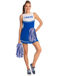 Blauer High School Cheerleader