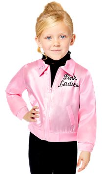 Pink Lady Grease Jacke - Kinderkostüm