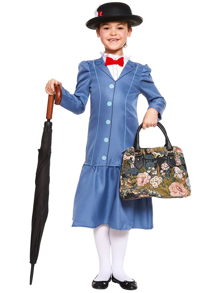 Mary Poppins Kinderkostüm Party City